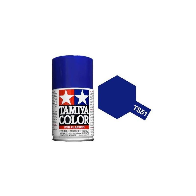 Tamiya 85051. Spray TS-51 Pintura Esmalte Azul Telefónica