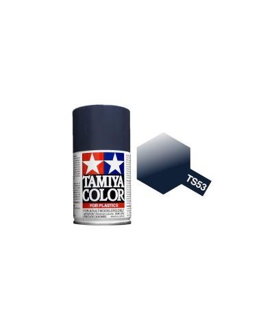 Tamiya 85053. Spray TS-53 Pintura Esmalte Azul Oscuro Metalizado