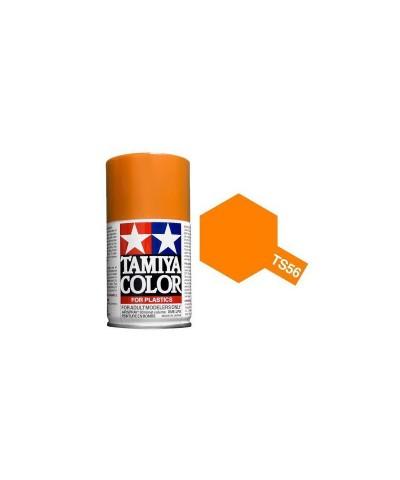 Tamiya 85056. Spray TS-56 Pintura Esmalte Naranja Brillante