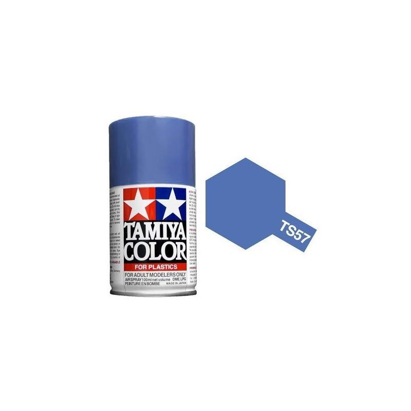 Tamiya 85057. Spray TS-57 Pintura Esmalte Azul Violeta