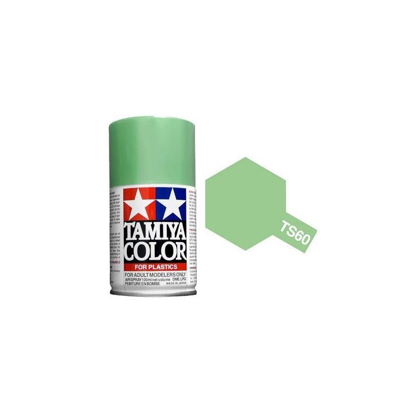 Tamiya 85060. Spray TS-60 Pintura Esmalte Verde Nacarado
