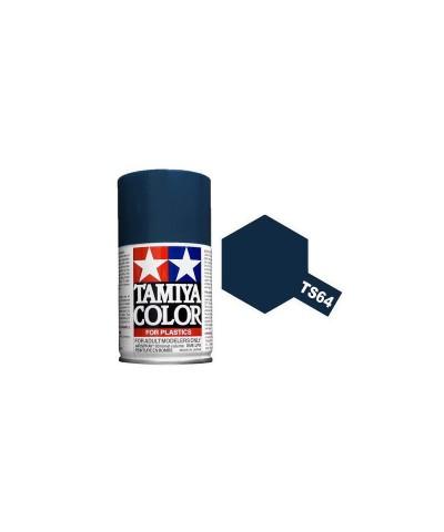 Tamiya 85064. Spray TS-64 Pintura Esmalte Azul Mica Oscuro