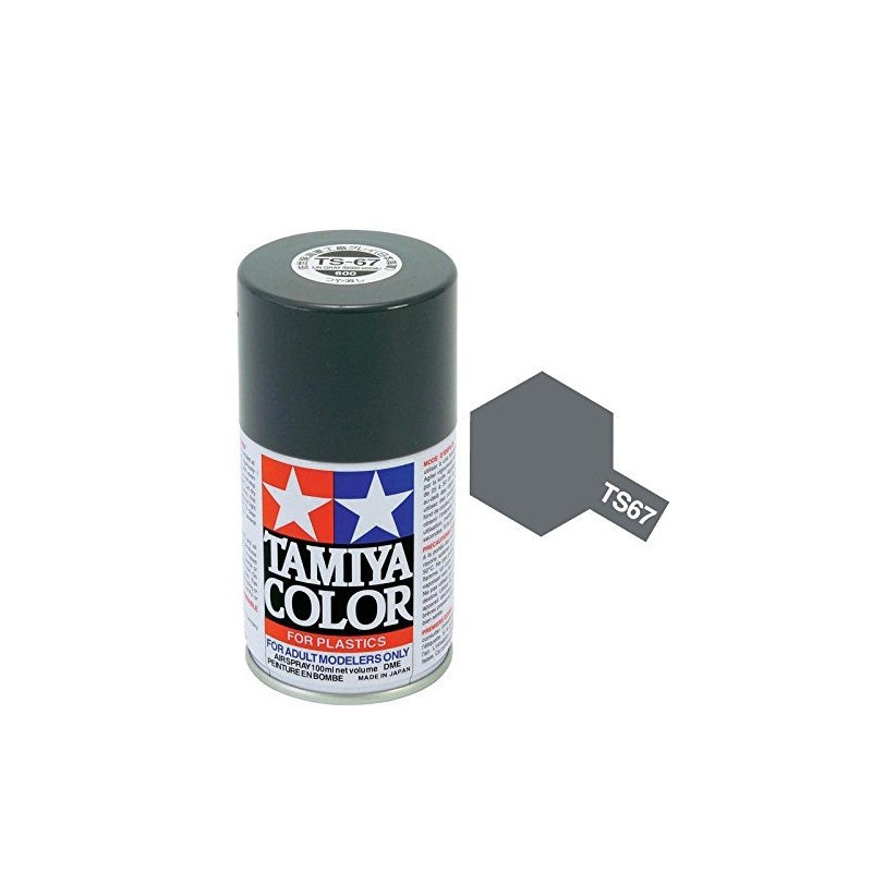 Tamiya 85067. Spray TS-67 Pintura Esmalte Gris IJN Sasebo