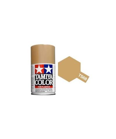 Tamiya 85068. Spray TS-68 Pintura Esmalte Madera Claro