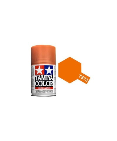 Tamiya 85073. Spray TS-73 Pintura Esmalte Naranja Translúcido
