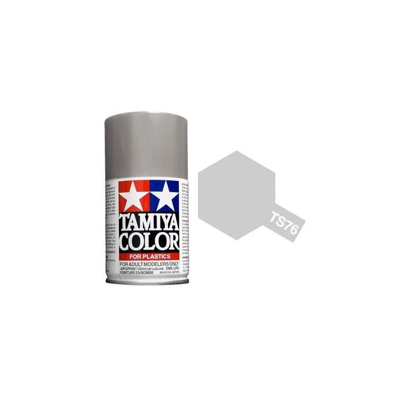 Tamiya 85076. Spray TS-76 Pintura Esmalte Plata Mica
