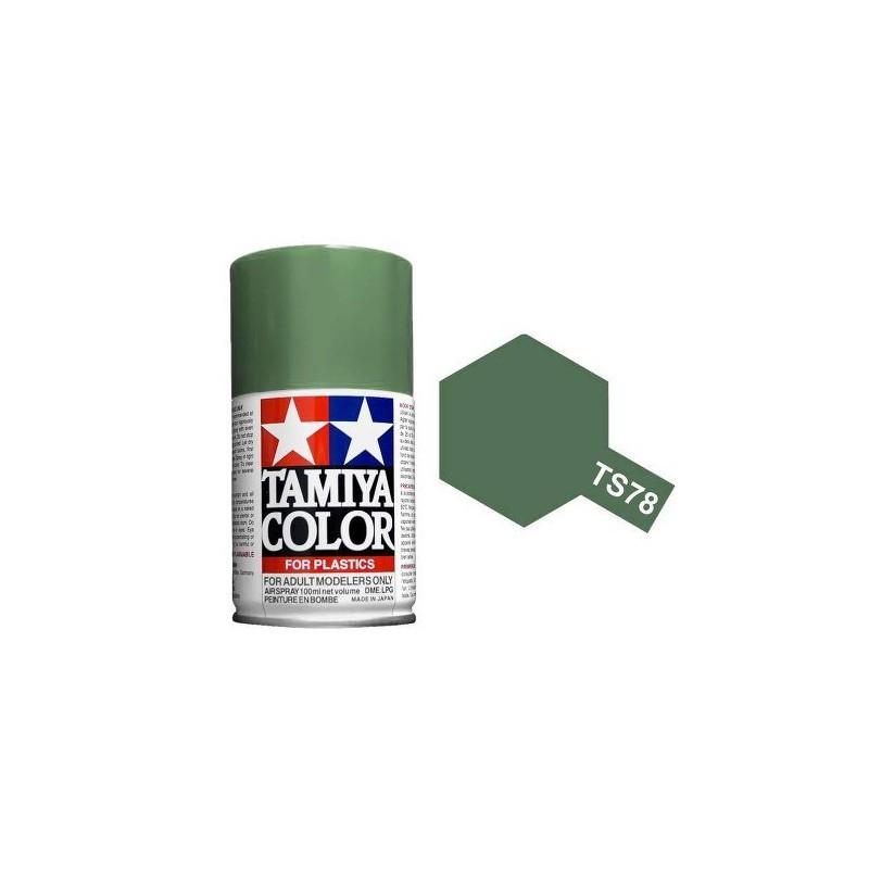 Tamiya 85078. Spray TS-78 Pintura Esmalte Gris Campaña 2