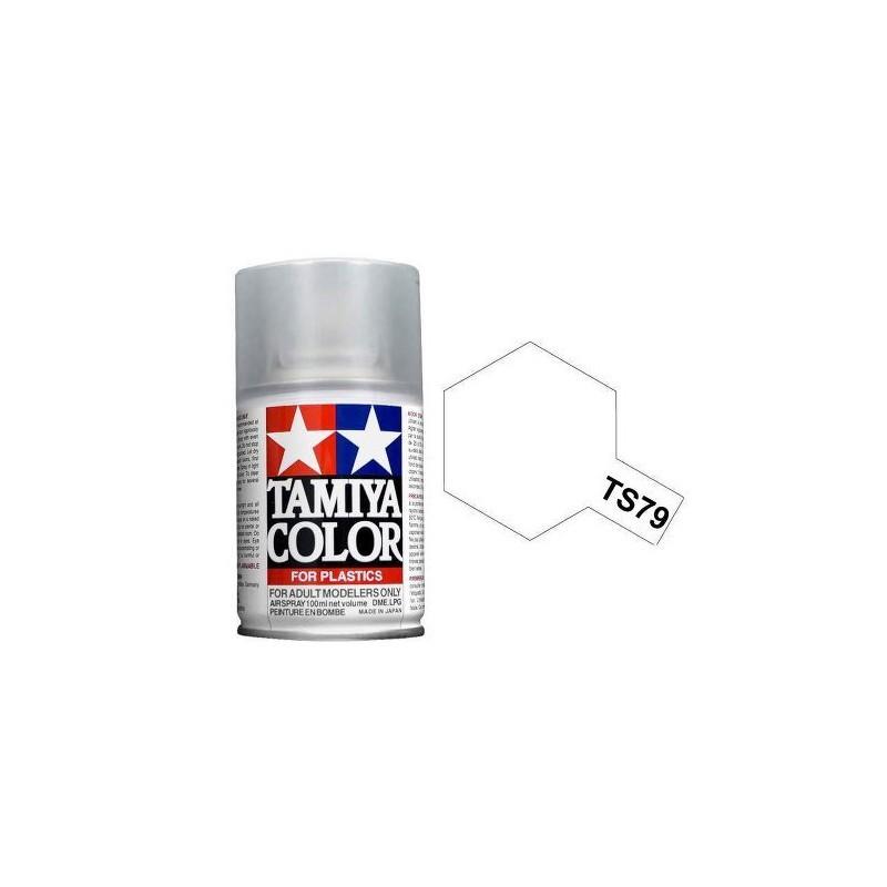 Tamiya 85079. Spray TS-79 Pintura Esmalte Barniz Transparente Satinado