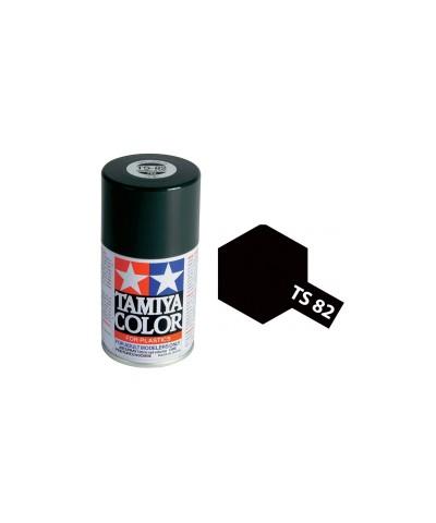 Tamiya 85082. Spray TS-82 Pintura Esmalte Negro Goma