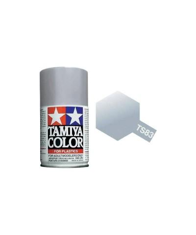 Tamiya 85083. Spray TS-83 Pintura Esmalte Plata Metalizada