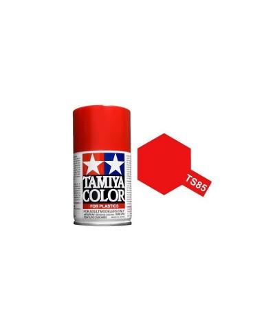 Tamiya 85085. Spray TS-85 Pintura Esmalte Rojo Ferrari Mica