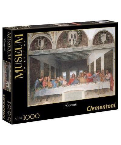 31447. Puzzle Clementoni 1000 piezas La ultima cena, Da Vinci