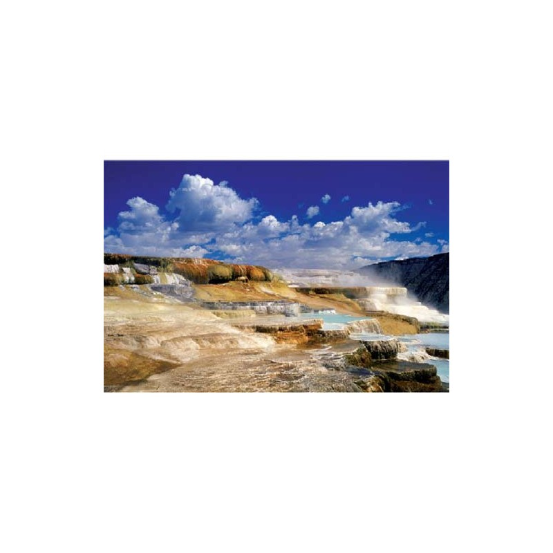 27037.Puzzle Trefl 2000pzs Hot Springs Yellowstone National Park