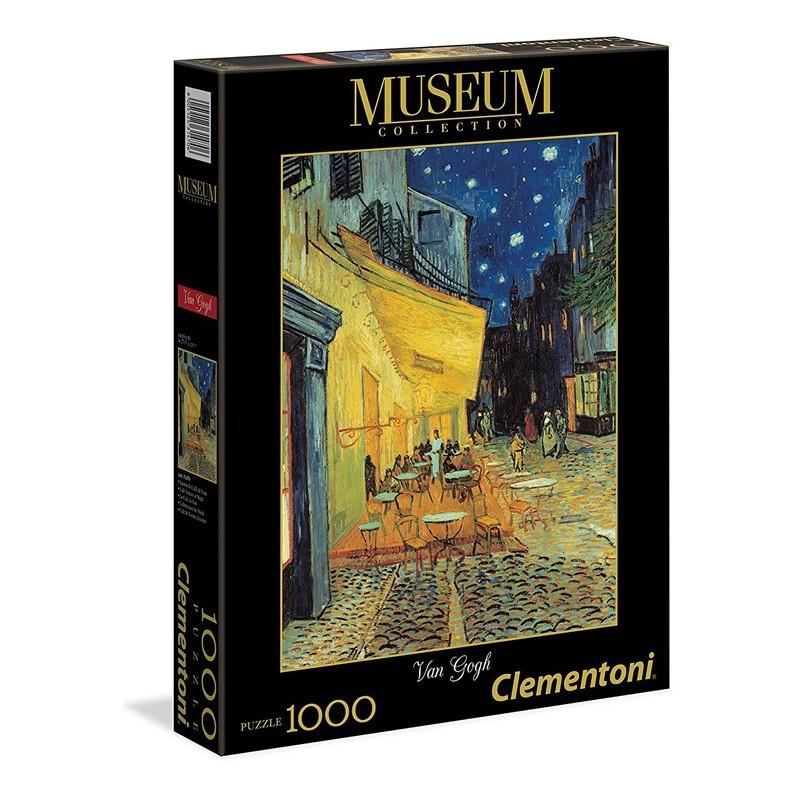 Clementoni 31470. Puzzle 1000 Piezas Café de Noche Van Gogh