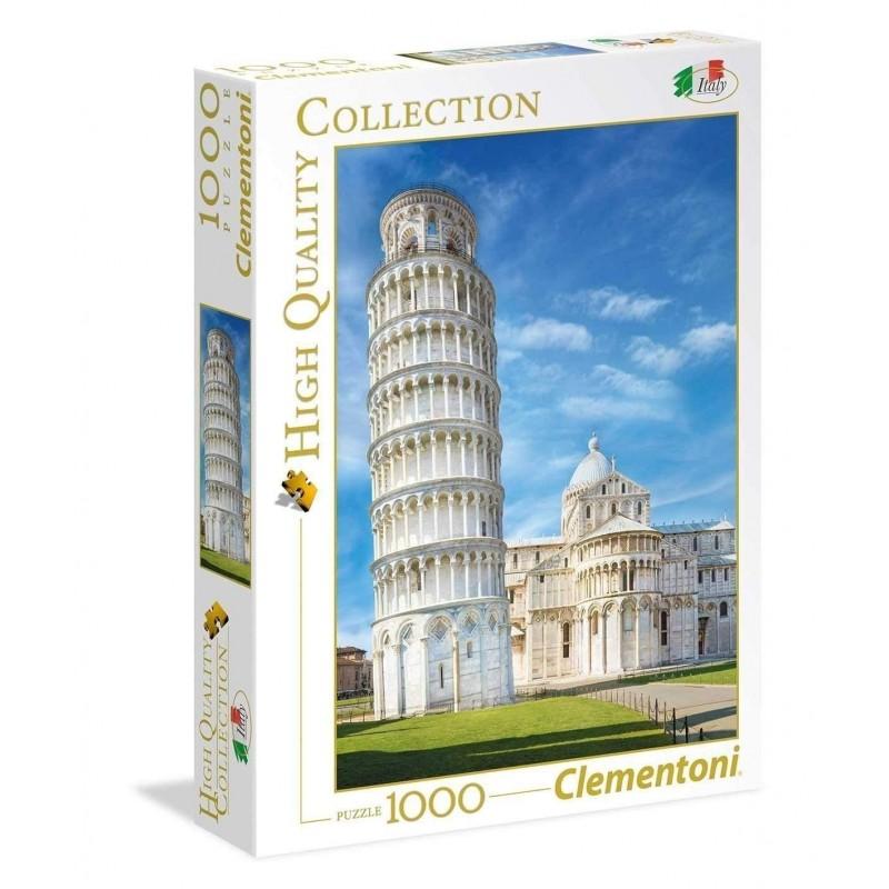 Clementoni 39455. Puzzle 1000 Piezas Torre de Pisa Italia