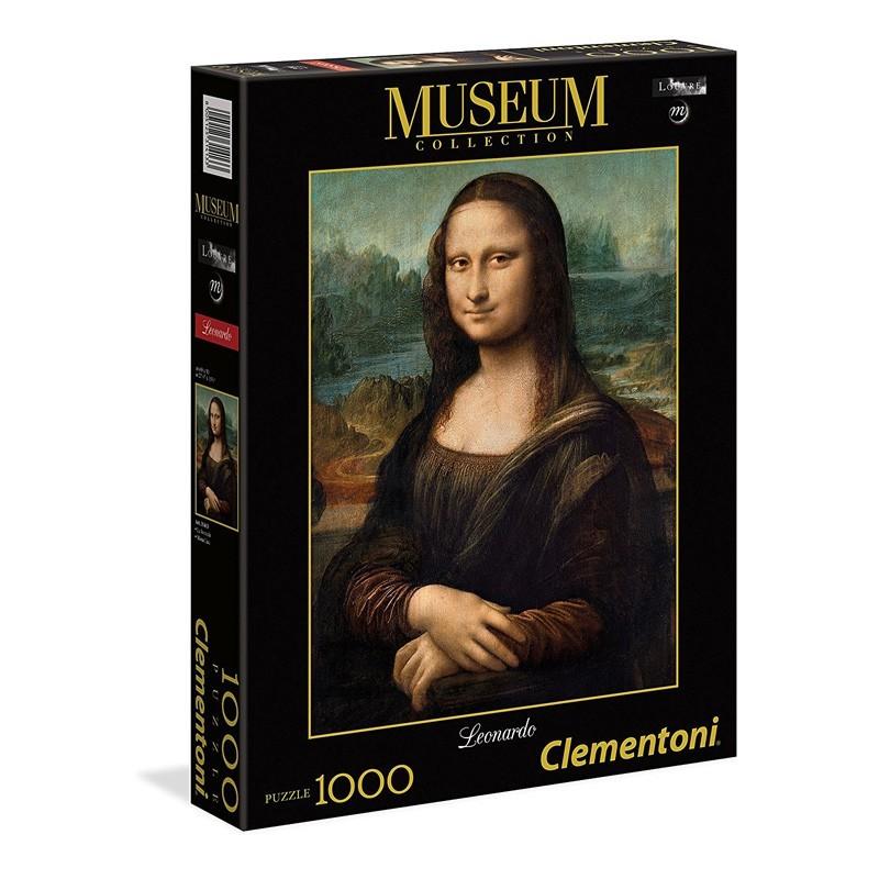 Clementoni 31413. Puzzle 1000 Piezas La Mona Lisa Da Vinci