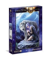 Clementoni 39465. Puzzle 1000 Piezas Protector Anne Stokes