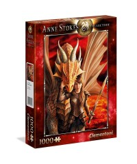 Clementoni 39464. Puzzle 1000 Piezas Inner Strenght Anne Stokes