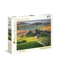 Clementoni 39456. Puzzle 1000 Piezas La Toscana Italiana