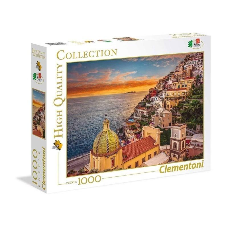 Clementoni 39451. Puzzle 1000 Piezas Positano Italia