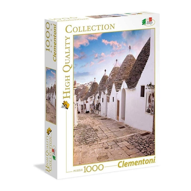Clementoni 39450. Puzzle 1000 Piezas Alberobello Italia