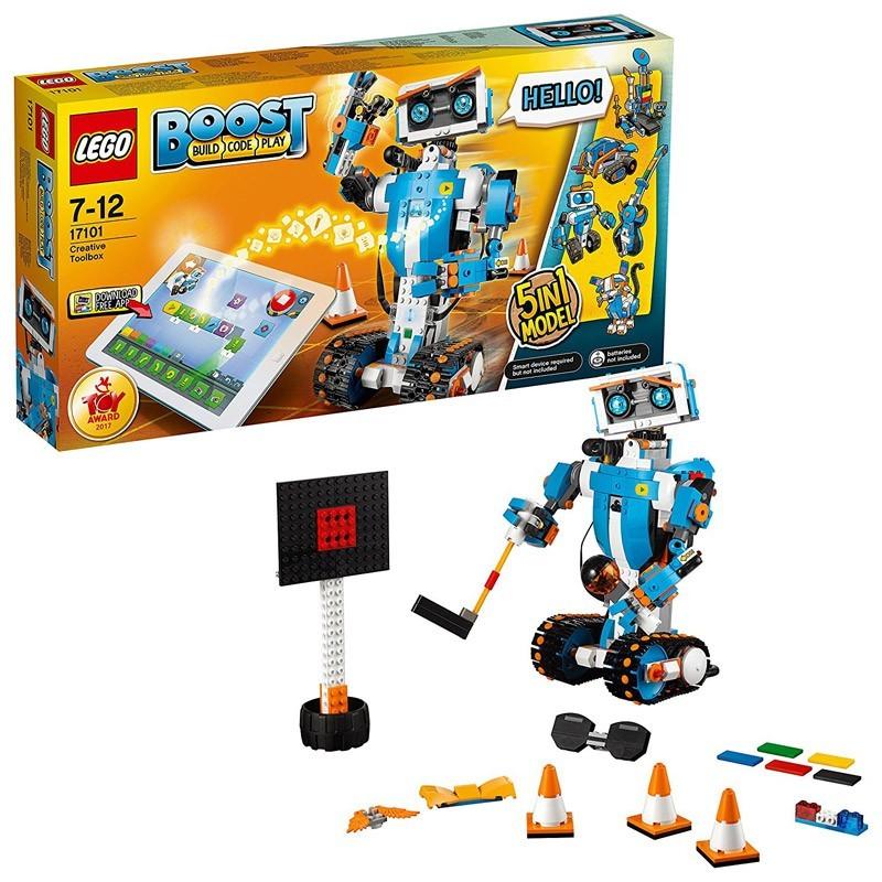 Lego 17101. Caja de Herramientas Creativas LEGO Boost 5 en 1