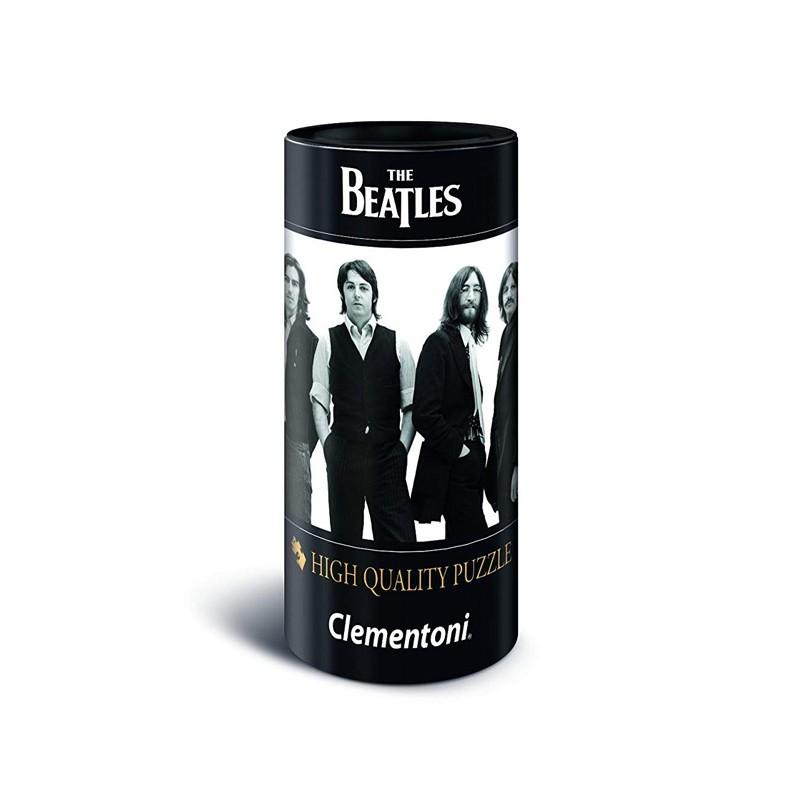 Clementoni 21200. Puzzle 500 Piezas The Beatles en Blanco y Negro
