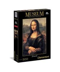Clementoni 30363. Puzzle 500 Piezas La Mona Lisa Da Vinci