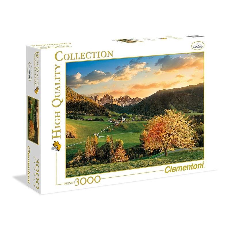 Clementoni 33545. Puzzle 3000 Piezas Los Alpes