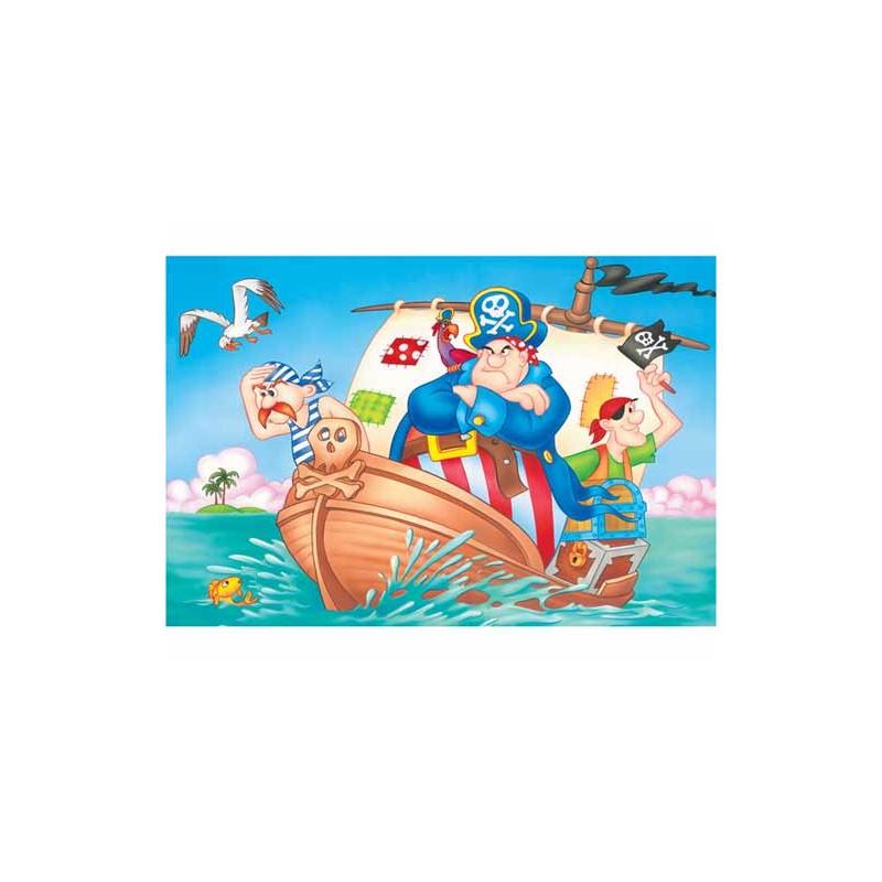 18100. Puzzle Trefl 30 piezas Piratas