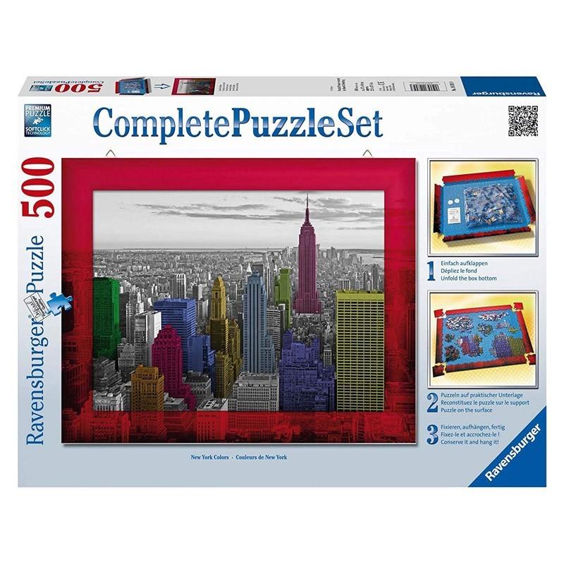 Ravensburger 14894. Puzzle 500 Piezas Nueva York Colores