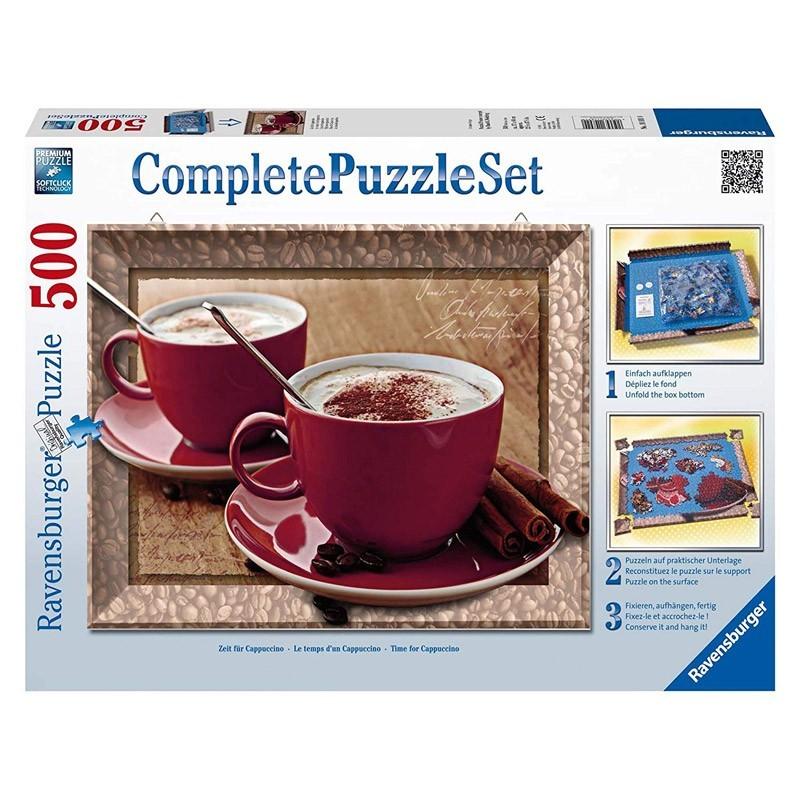 Ravensburger 14892. Puzzle 500 Piezas La Hora del Cappuccino