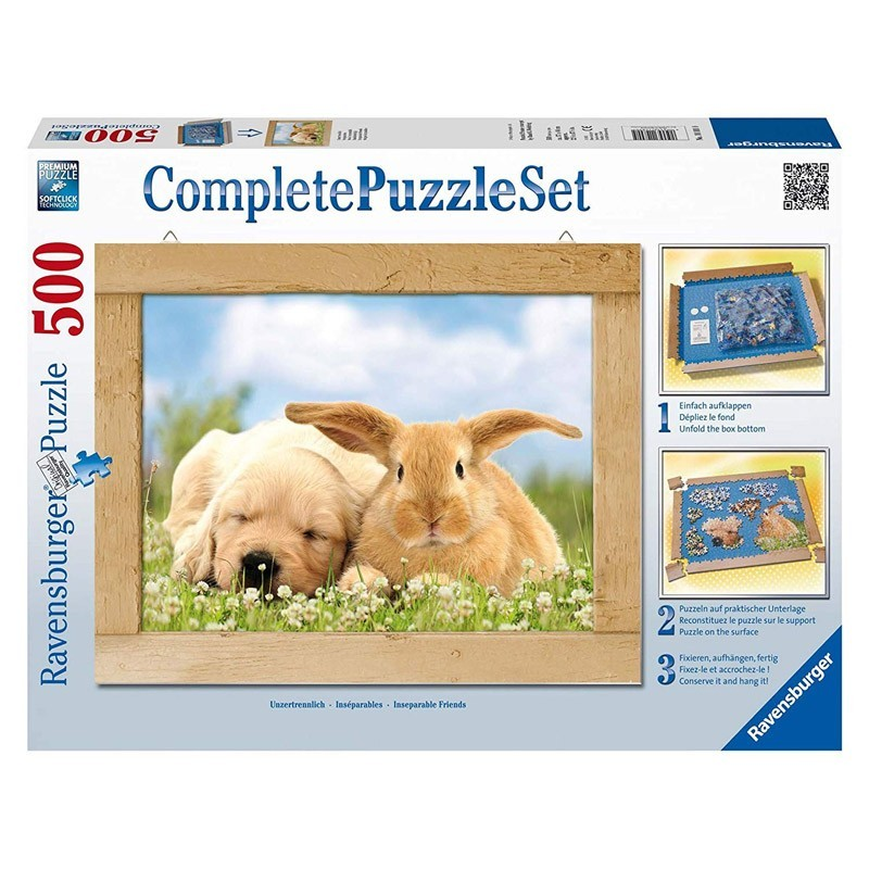 Ravensburger 14890. Puzzle 500 Piezas Amigos Inseparables