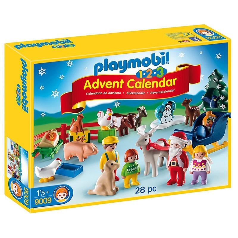 Playmobil 9009. Calendario Adviento Granja Animales Navidad
