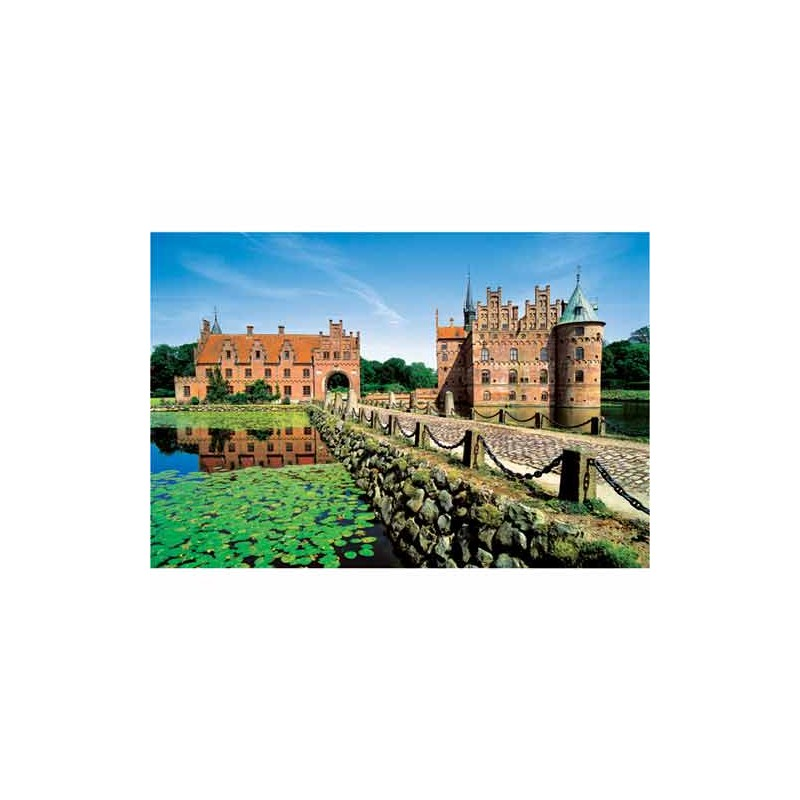 37076. Puzzle Trefl 500 piezas Castillo Egeskov, Dinamarca