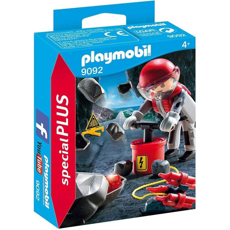 Playmobil 9092. Especialista en Explosivos