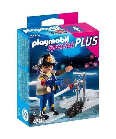 Playmobil 4795. Bombero con manguera