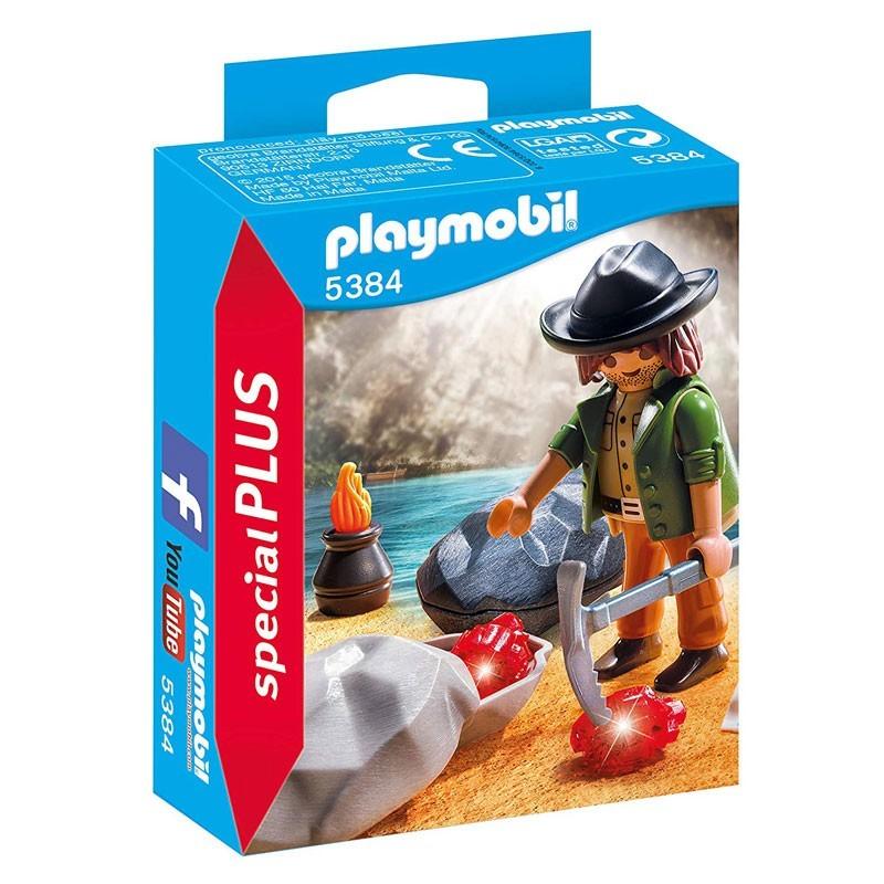 Playmobil 5384. Buscador de Gemas