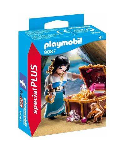 Playmobil 9087. Pirata con Tesoro