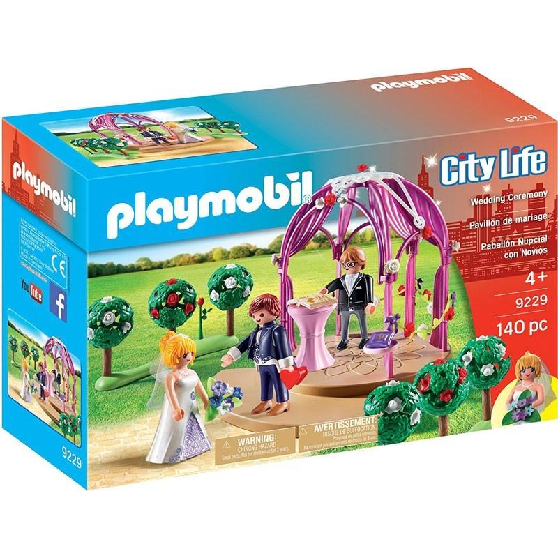 Playmobil 9229. Pabellón Nupcial con Novios