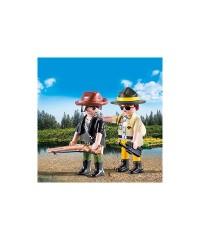 Playmobil 9217. Ranger y Cazador Furtivo
