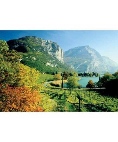 37068. Puzzle Trefl 500 piezas Lago Toblino, Trento, Italia