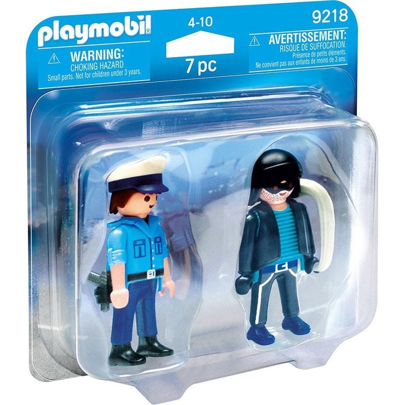 Playmobil 9218. Policía y Ladrón