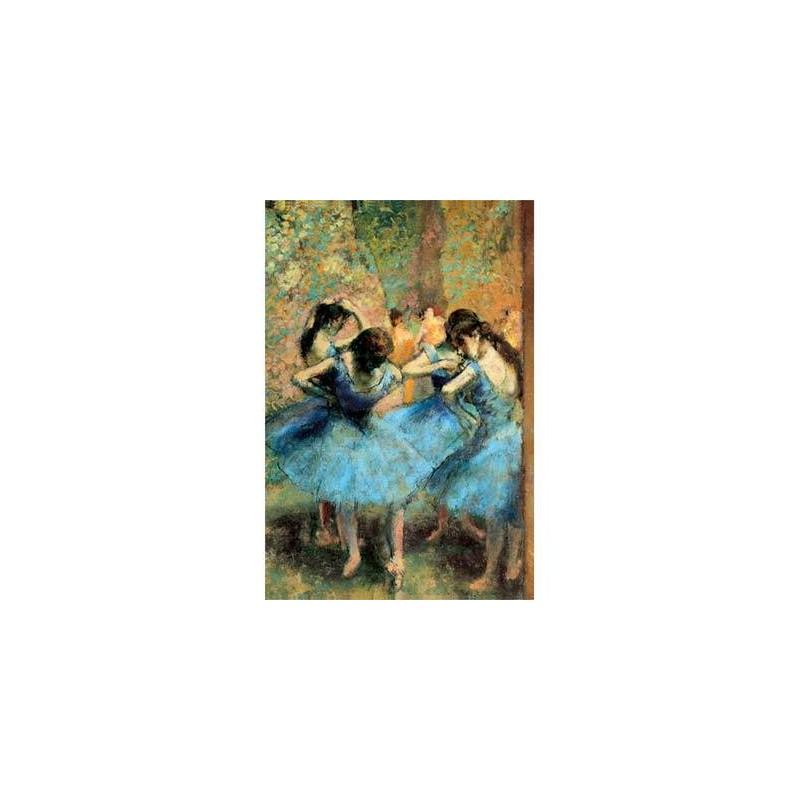 "20003.Puzzle Trefl 500pzs Bailarinas Azules Edgar Degas ""madera"""