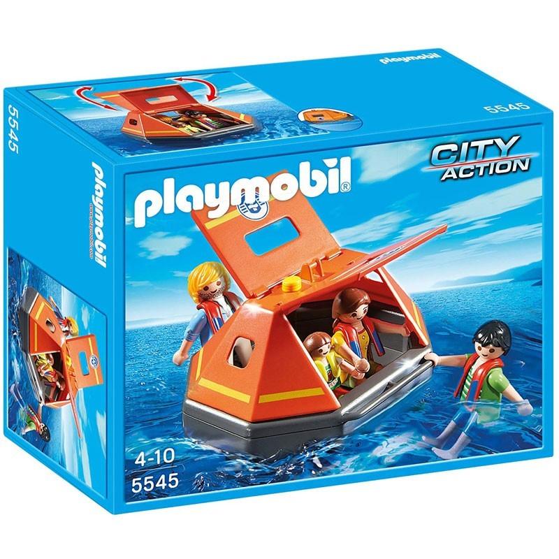 Playmobil 5545. Balsa de Salvamento