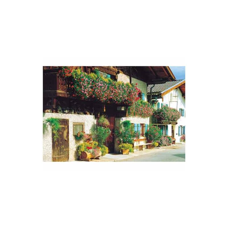 37078. Puzzle Trefl 500 piezas Las aldeas de los Alpes, Alemania