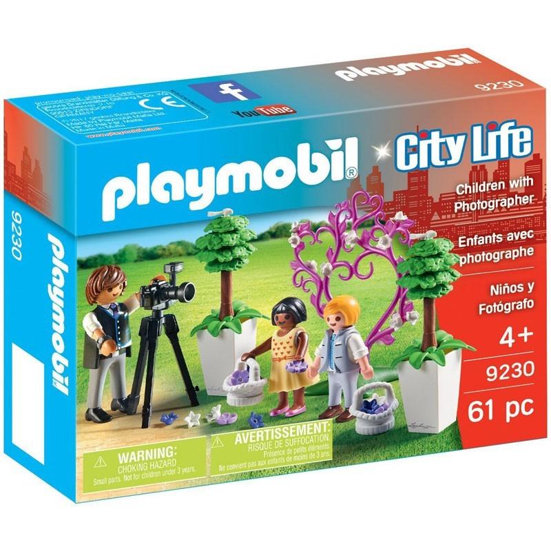 Playmobil 9230. Niños y Fotógrafo de Boda