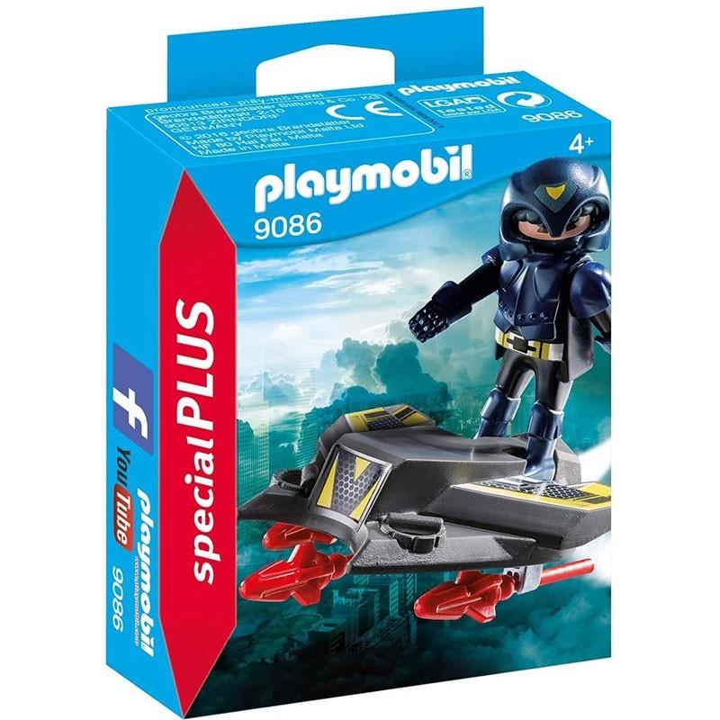 Playmobil 9086. Espía con Jet