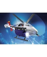 Playmobil 6921. Helicóptero de Policía