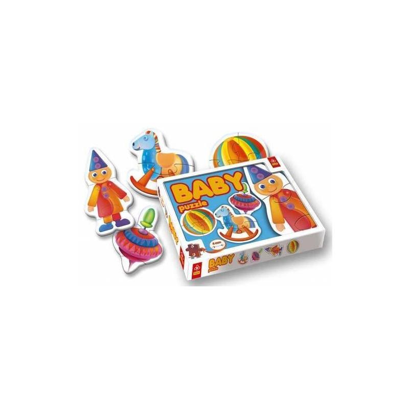 36014. Puzzle trefl Baby 2-3-4 piezas, Juguetes